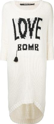Kitx , Love Bomb Jumper Women Cottonnylonwool S, White