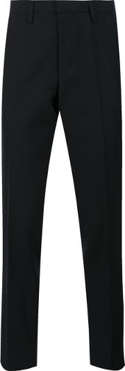 Kolor , Slim Fit Trousers Men Cuprowool 4, Blue