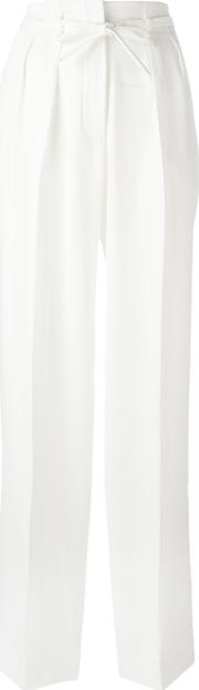 Lala Berlin , Alice Trousers Women Polyester Xs, White