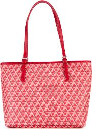 Lancaster , Ikon Tote Women Leather One Size, Red