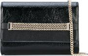Lanvin , Flap Chain Shoulder Bag Women Lamb Skin One Size, Black