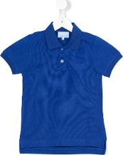Lanvin Petite , Classic Polo Shirt Kids Cotton 4 Yrs, Blue