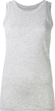 Lareida , Franc Tank Top Women Cottonspandexelastane M, Grey