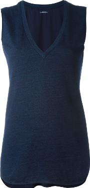 Lareida , 'helen' Tank Top Women Cottonsilk S, Blue