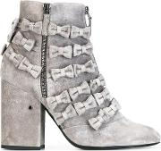 Laurence Dacade , 'meryl' Ankle Boots Women Leathersuede 41, Grey
