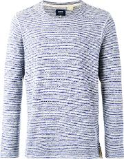 Levis Made & Crafted , Levi's Made & Crafted Safari Stripe Jumper Men Cottonpolyester M, Blue