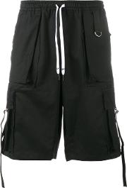 Liam Hodges , Combat Shorts Men Cotton 30, Black