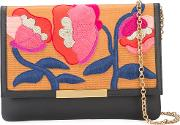 Lizzie Fortunato Jewels , Embroidered Flowers Clutch Bag Women Acetate One Size