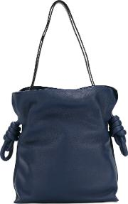 Loewe , Bucket Shoulder Bag Women Cottonlinenflaxcalf Leather One Size, Blue