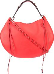 Loewe , 'fortune' Hobo Bag Women Calf Leather One Size, Red