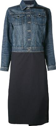 Lutz Huelle , Denim Coat Women Cotton L, Blue