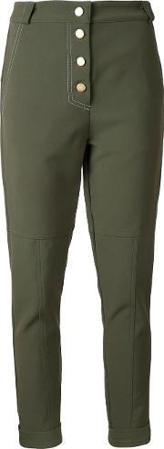 Manning Cartell , Military Issue Trousers Women Nylonspandexelastaneviscose 8, Green
