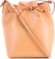 Mansur Gavriel , Bucket Tote Women Leather One Size, Brown
