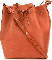 Mansur Gavriel , Classic Bucket Bag Women Calf Leather One Size, Brown
