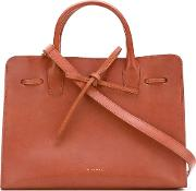 Mansur Gavriel , 'tanned Sun' Tote Bag Women Calf Leather One Size, Nudeneutrals