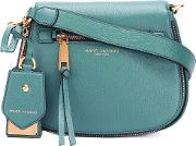 Marc Jacobs , Small Nomad Satchel Bag Women Calf Leather One Size, Blue