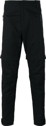 Marcelo Burlon County Of Milan , Tapered Trousers Men Cotton 48, Black