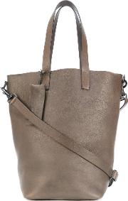 Marsell , Bucket Tote Bag Women Leather One Size, Brown