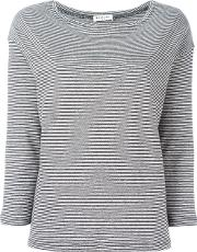 Masscob , Striped Sweatshirt Women Cottonlinenflax L, Black