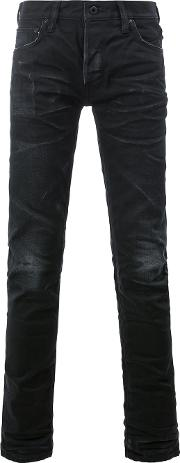 Mastercraft Union , Slim Fit Jeans Men Cottonpolyurethane 33, Black