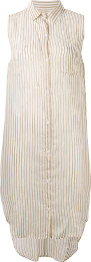 Mes Demoiselles , Striped Shirt Women Polyesterviscose 38, White