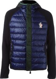 Moncler Grenoble , Hooded Buttoned Jacket Men Polyamidepolyesterspandexelastanefeather Down Xl