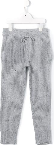 Morley , Casual Speckled Trousers Kids Cashmerevirgin Wool 8 Yrs, Grey