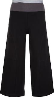 Musee , Cropped Trousers Women Rayon M, Women's, Black