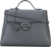 Myriam Schaefer , Baby Byron Tote Bag Women Leather One Size, Grey