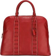 Myriam Schaefer , Medium 'tennessee' Tote Women Calf Leather One Size, Red