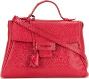 Myriam Schaefer , Mini 'byron' Tote Women Calf Leather One Size, Red