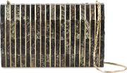 Nathalie Trad , 'gustave' Clutch Bag Women Mother Of Pearlmetal One Size