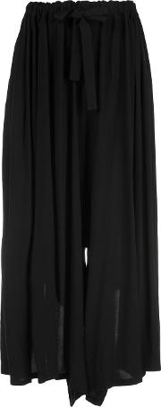 Nocturne 22 , Loose Fit Trousers Women Rayon S, Black