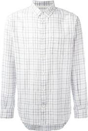 Norse Projects , Checked Shirt Men Cotton M, White