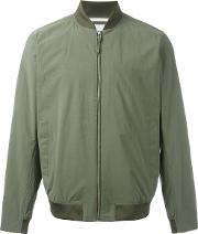 Norse Projects , Zip Bomber Jacket Men Cottonpolyamide L, Green