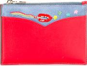 Olympia Letan , Olympia Le Tan Rainbow Stitch Purse Women Cottonleathersuede One Size, Red
