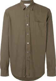 Our Legacy , Chest Pocket Shirt Men Silk 44, Green