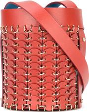 Paco Rabanne , Bucket Shoulder Bag Women Leathermetal One Size