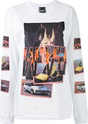 Pam Perks And Mini , Witch Car T Shirt Women Cotton M, White