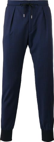 Paul Smith London , Gathered Ankle Trousers Men Wool 34, Blue