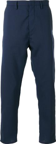 Pence , Classic Chinos Men Virgin Wool 46, Blue