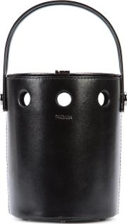 Perrin Paris , Basket Tote Bag Women Leather One Size, Women's, Black