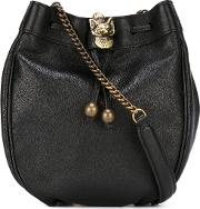 Philosophy Di Lorenzo Serafini , Bucket Cross Body Bag Women Leather One Size, Black