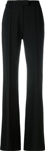 Plein Sud , Tailored Straight Trousers Women Polyesterspandexelastaneviscosevirgin Wool 38, Black