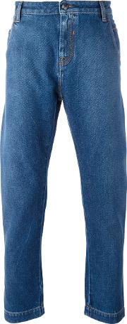 Ports , 1961 Loose Fit Jeans Men Cotton 33, Blue