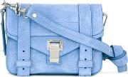 Proenza Schouler , Mini Ps1 Satchel Women Calf Leather One Size, Blue