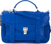 Proenza Schouler , Ps1 Satchel Women Calf Leather One Size, Blue