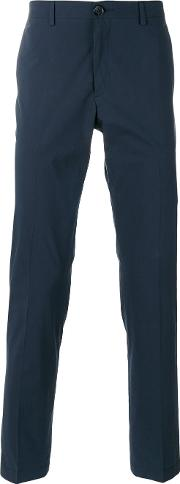 Ps By Paul Smith , Tailored Trousers Men Cotton 36, Blue