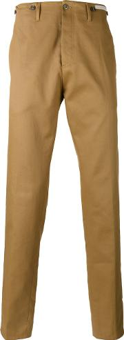 Pt01 , Classic Chinos Men Cotton 48, Brown