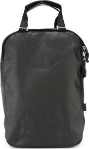 Qwstion , Top Handle Backpack Unisex Canvas One Size, Black